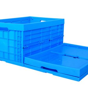 collapsable bin storage crates