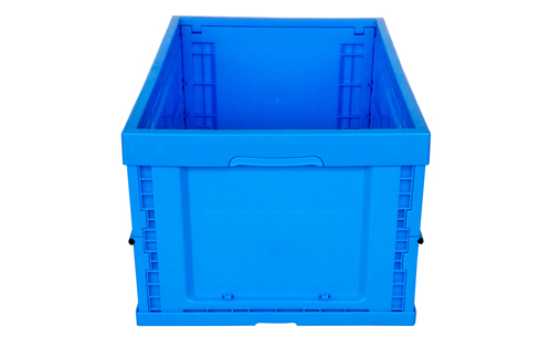 collapsable box folding storage bin