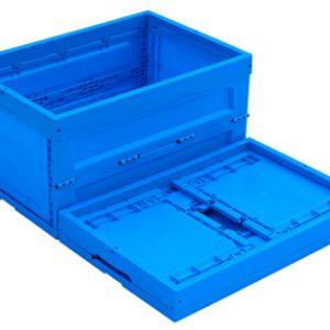 collapsable box folding storage bin