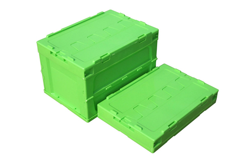collapsible boxes plastic