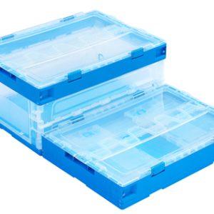 crates plastic storage