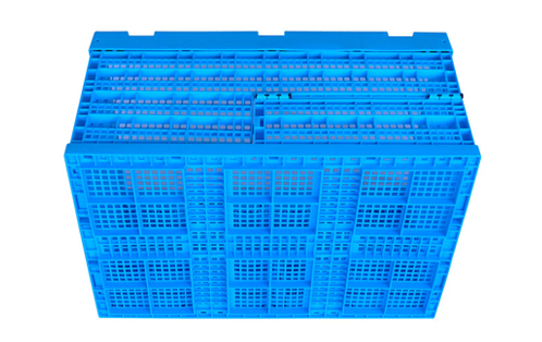 fold flat crate collapsible bins