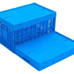 folding crates plastic