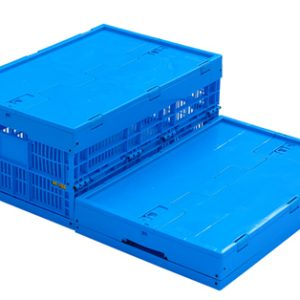 folding plastic crates