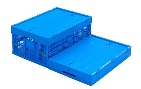 folding plastic crates